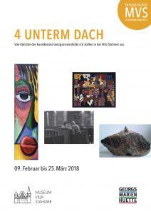 Kunstkreis Georgsmarienhuette eV Ausstellung vier unterm Dach Einladung Villa Stahmer